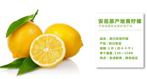 """安岳柠檬 中国公认的""""国优果"""""""