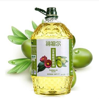 【纳福尔】山茶橄榄油 5000ml/瓶 健康长寿油