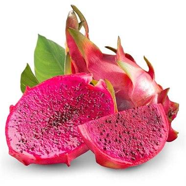 越南进口 红心火龙果 1个(450-550g)新鲜水果