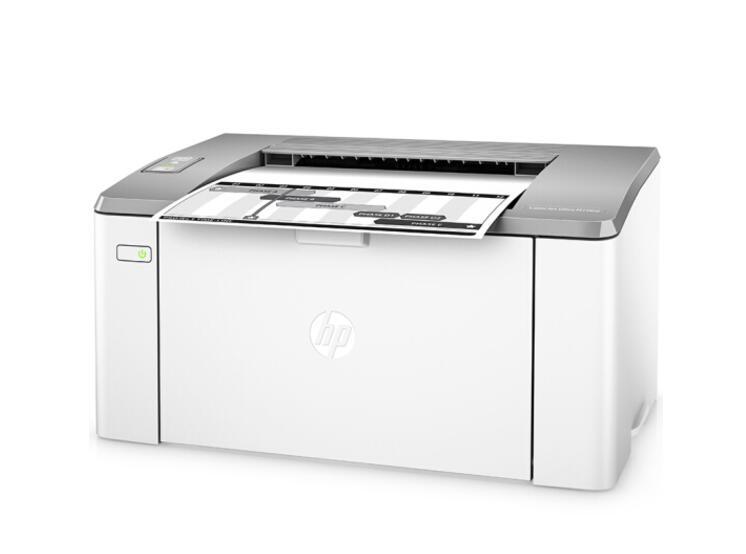 惠普(HP)LaserJet Ultra M106w黑白激光打印机 无线打印 A4打印