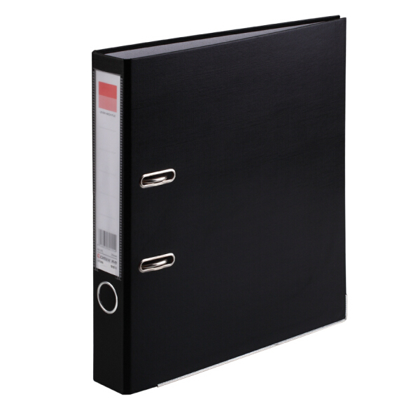 齐心(Comix) A106N 加强型快劳夹/A4文件夹 黑色 办公文具