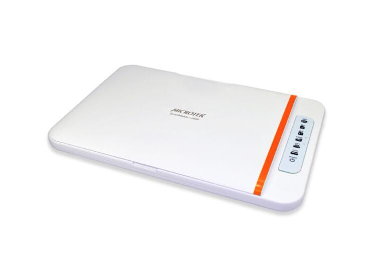 MICROTEK ScanMaker i2600 中晶平板式轻薄高速扫描仪A4照片文档