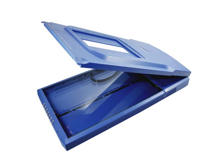 MICROTEK FileScan 380 中晶CCD文档合同彩色A4双短边距胶片高清照片平板扫描仪