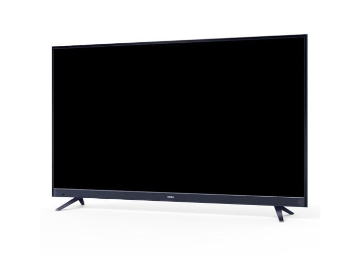 康佳(KONKA)LED55X9 55英寸 7.9mm纤薄金属机身 无边全面屏 42核人工智能2.0 前置音响 4K平板电视机