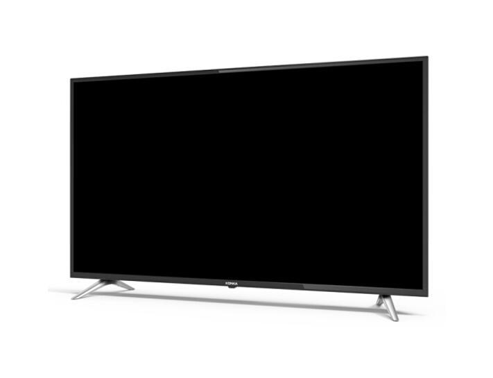 康佳(KONKA)S55U 55英寸 4K HDR超高清64位智能液晶电视 (黑色)
