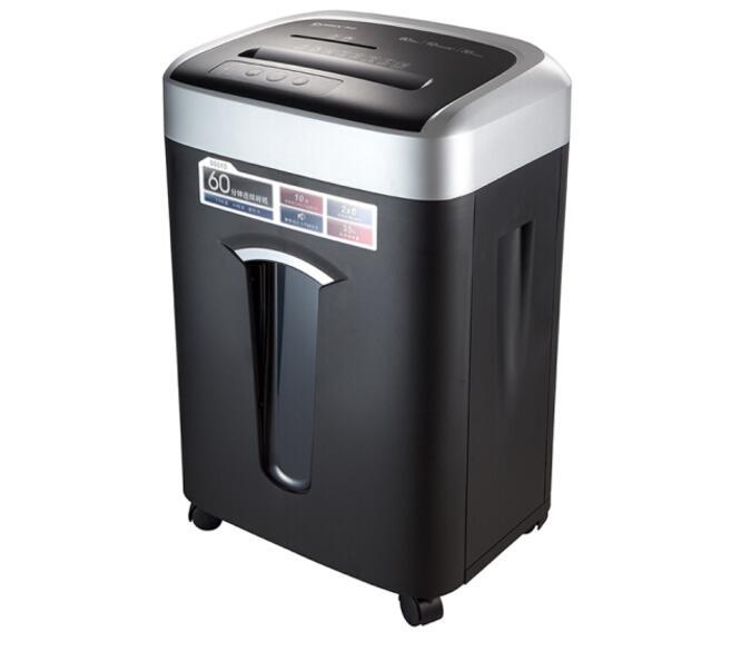 齐心(Comix)S6610 长时间大容量高保密办公碎纸机(可碎纸/卡/光盘)