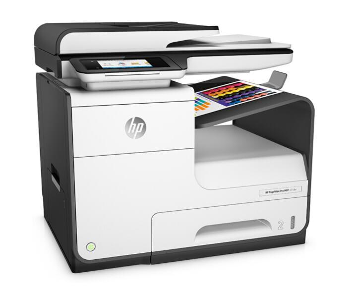 惠普(HP)PageWide Pro 477dw 页宽秒速级一体机 (无线 打印 传真 扫描 复印)全新打印技术