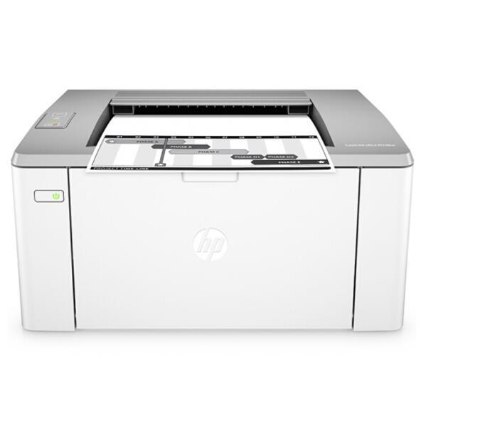 惠普(HP)M106w黑白激光打印机 无线打印 A4打印 1020升级款