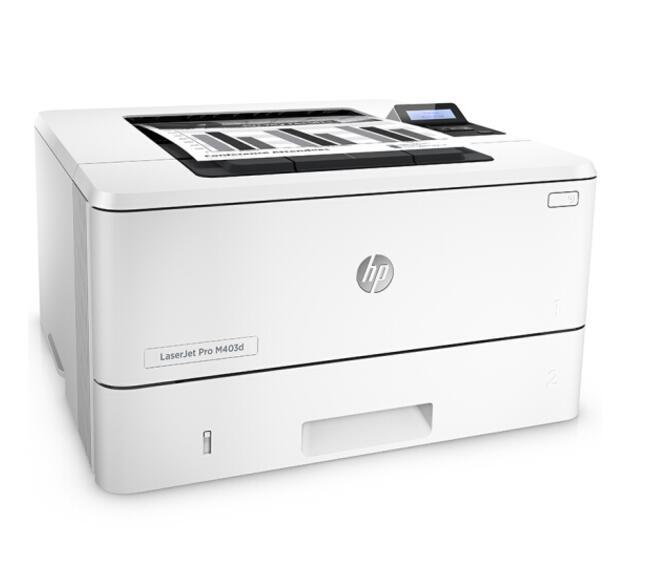 惠普(HP)LaserJet Pro M403d 黑白激光打印机