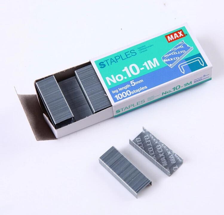 MAX美克司NO.10-1M 1000钉/盒 小号订书针